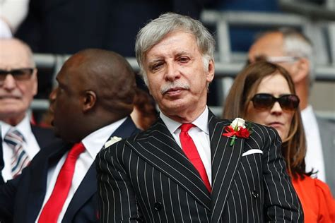 arsenal owner arsenal majority owner stan kroenke rules out sale to