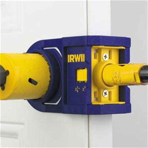 metal wood door lock installation kits tools irwin tools