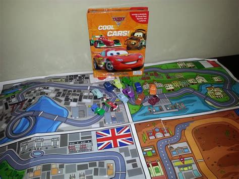 Disney Cars Book Play Mat - disney cars storybook with play mat and cars west shore