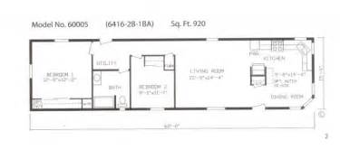 Single Wide Trailer Floor Plans by Gallery For Gt Single Wide Mobile Home Floor Plans 2 Bedroom