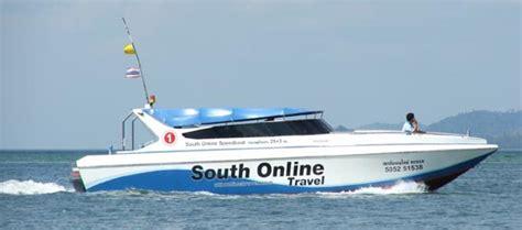 speedboat meme voyage 224 koh lanta tourisme plages plong 233 e attractions
