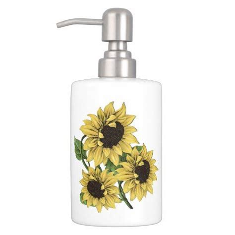 sunflower bathroom accessories 25 best ideas about sunflower bathroom on pinterest