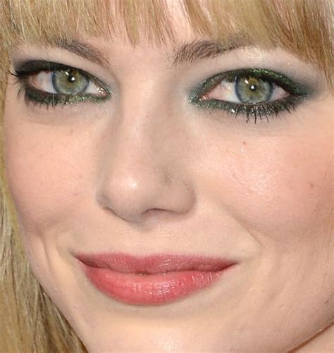 emma stone big eyes emma stone green eyes i love make up pinterest