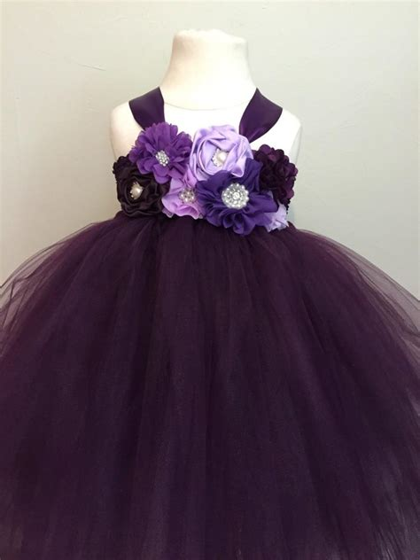 plum colored flower dresses plum purple lavender tulle dress plum flower