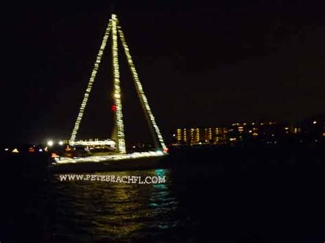 st pete beach boat parade treasure island holiday boat parade st pete beach fl