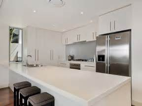 Modern Galley Kitchen Design Modern Galley Kitchen Design Using Floorboards Kitchen Photo 499655