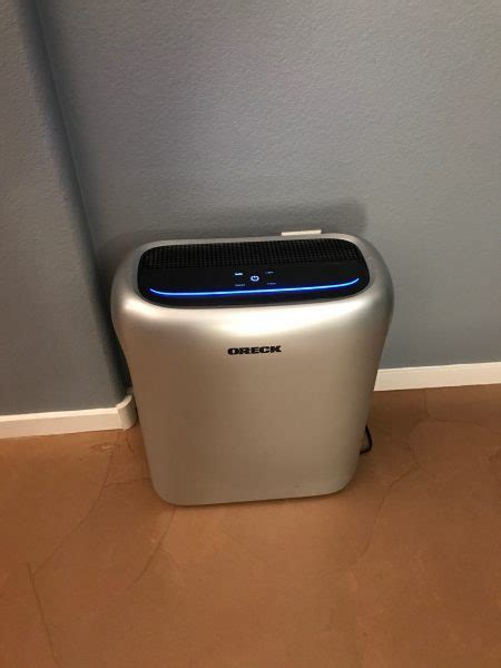 oreck wk16001 air response hepa air purifier review the gadgeteer