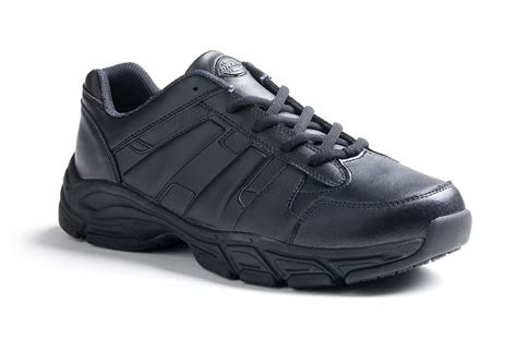 black work shoes dickies s athletic lace work shoe sr3115 black