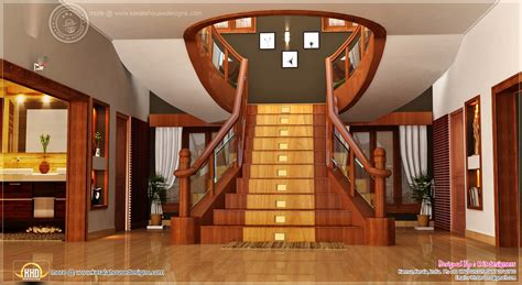 kerala home design staircase home interior designs by rit designers kerala home