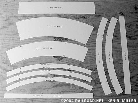 model railroad track templates railroad net the chessie system from cumberland to