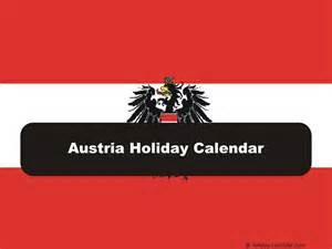 Austria Calendã 2018 Austria 2017 2018 Calendar
