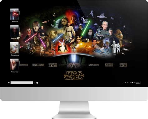theme windows 10 star wars 7 star wars saga windows 7 theme