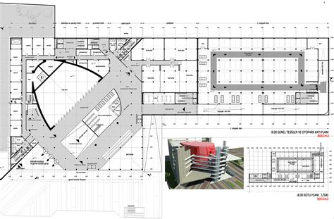 Fllor Plans gallery of cankaya art center and concert hall iki 1