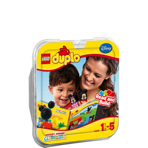 Lego Duplo Mickey Mouse Clubhouse Clubhouse Cafe Read And Build lego duplo disney clubhouse cafe 10579 toys thehut