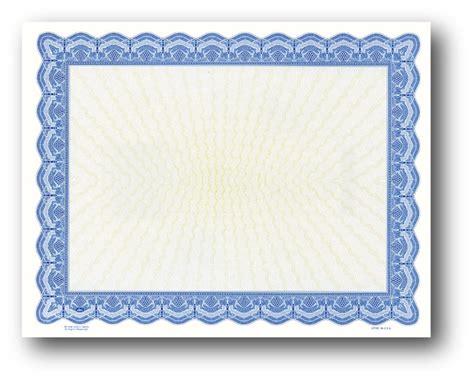 blue certificate template blank award certificate paper buy blank certificate paper