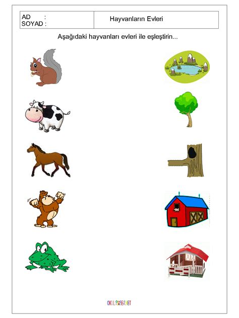 printable animal homes crafts actvities and worksheets for preschool toddler and