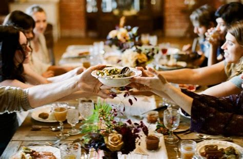 table setting family style image via huffington post