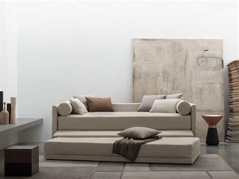divano letto singolo flou biss letto trasformabile by flou design pinuccio borgonovo