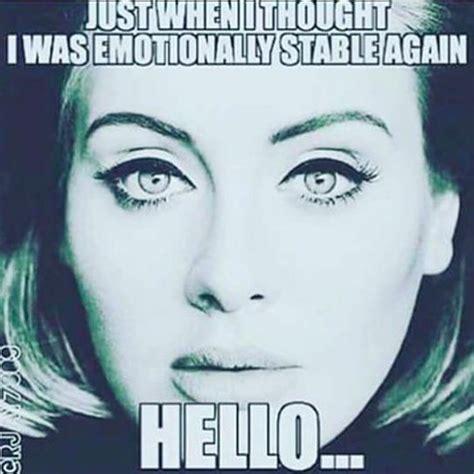 Adele Meme - 144 best adele cartoons edits memes images on pinterest