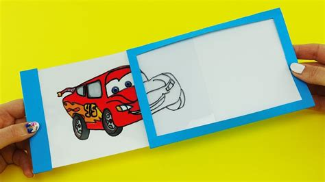 Gift Cards For Kids - disney cars 3 magic slider card with mcqueen diy gift card for kids my crafts and