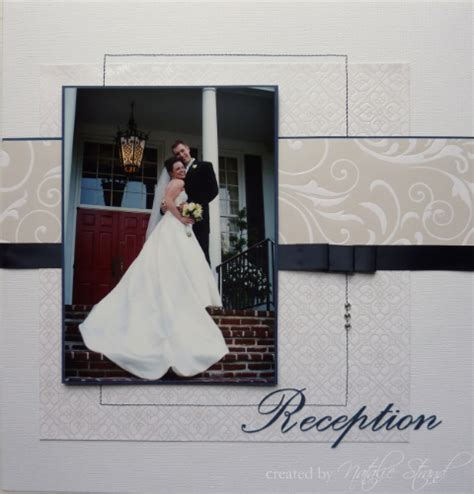 Wedding Album Scrapbook Layouts by 301 Moved Permanently