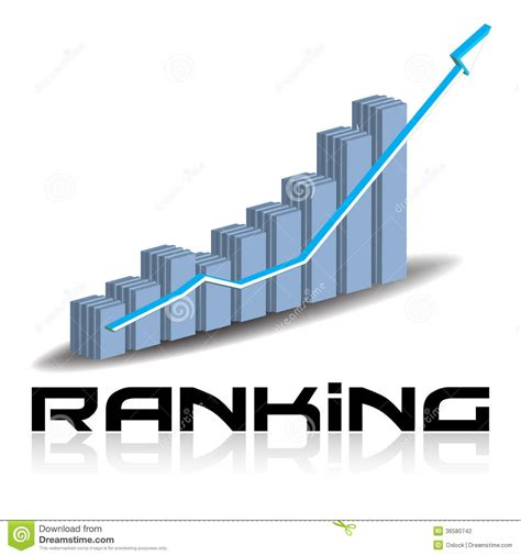 art design ranking ranking concept stock photography image 36580742