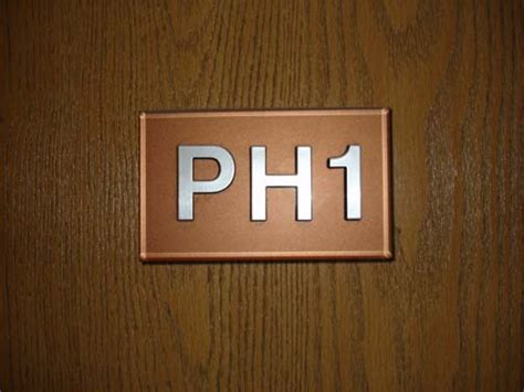 appartment number apartment door numbers on plate