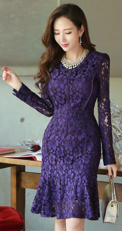 Korea Top Longsleeve Renda Blackk Wgset0161 best 25 purple lace ideas on purple lace