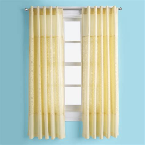 yellow drapery panels baby kids decor on sale the land of nod