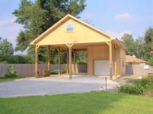garage plans with carport rv building designs rv carport one car garage gator