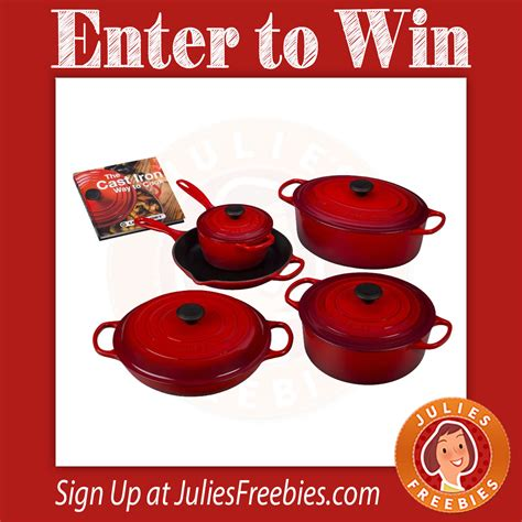 Le Creuset Sweepstakes - le creuset sweepstakes julie s freebies