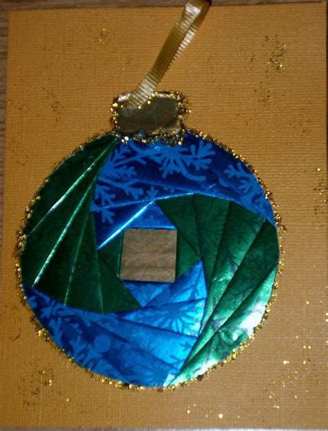 Iris Folding Papers - iris paper folding ornament iris paper folding