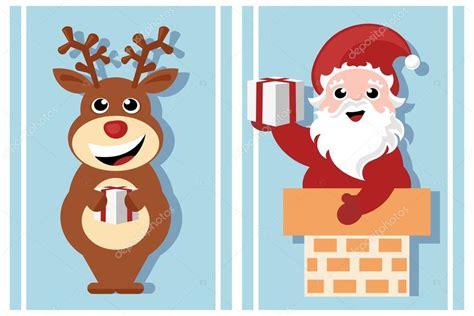 imagenes de santa claus y la navidad personajes de dibujos animados de navidad santa claus y