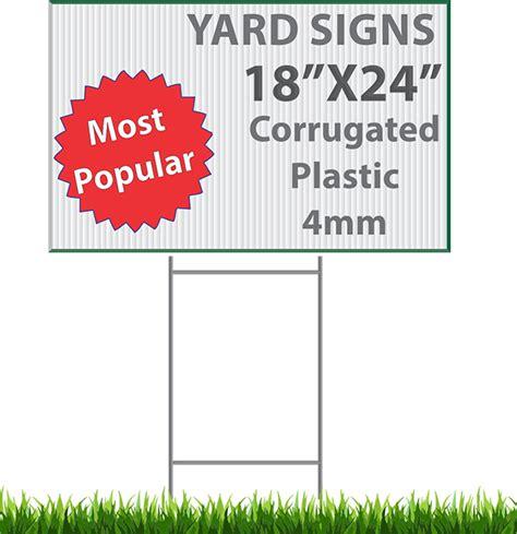 yard signs signs custom made we ship to all usa