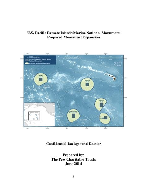 Cd Pria Pacific pew charitable trusts background dossier for pacific marine monument