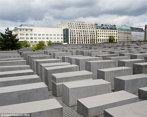 a place of remembrance tegan martin forgot location of berlin holocaust memorial selfie daily mail online