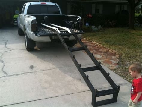homemade boat bed mr bojangles truck bed ski launch system jet