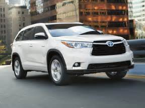 Toyota Highlander Price New 2017 Toyota Highlander Hybrid Price Photos Reviews