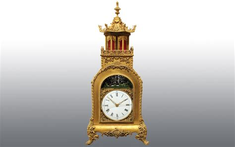 chinese triple fusee and gilt bronze bracket clock with antique clocks fine rare clock auction clars auction