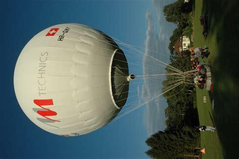 Gas Balon gasballon hugi ballonfahrten