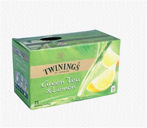 Twinings Green Tea Lemon 25 Teabags teas tea coffee beverages home twinings tea green lemon 25 tea bags twinings
