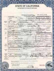 Certification Of Records Template by Certification Of Vital Record State Of California
