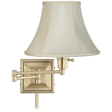 Cover Swing Arm Aram Standar creme shade brass beaded swing arm with cord cover 77426 r2636 u2364 www lsplus