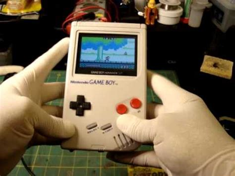 mod gameboy sp modified original gameboy with the guts of a gameboy sp