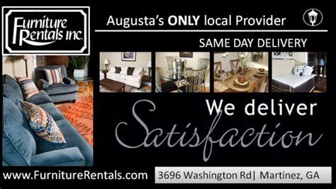 augusta ga furniture rentals home staging appliance