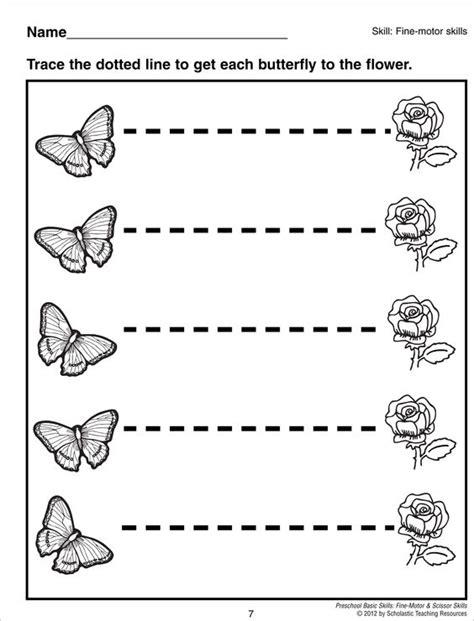 printable tracing lines for preschoolers tracing horizontal lines preschool basic skills fine motor
