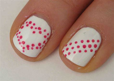 easy valentines nails easy s day nail designs a really simple