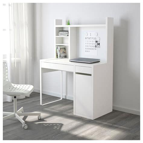 scrivania micke micke workstation white 105x50 cm ikea