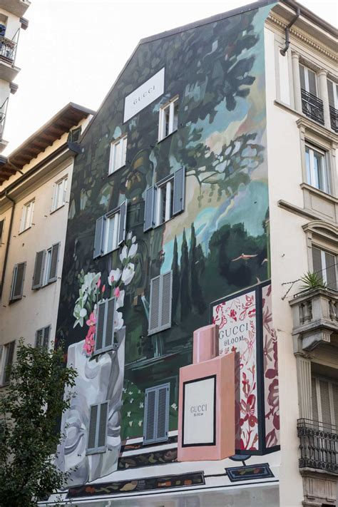gucci art wall flawless milano  lifestyle guide