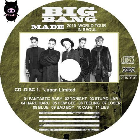 Original Dvd Big Made In Seoul jyjラベル たまに 2015 bigbang world tour made in seoul